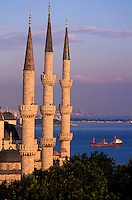 Turquie - Istanbul - Mosquée Sultan Ahmed - Mosquée bleue