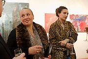 NINIVAH KHOMO; DELILAH KHOMO, Opening of ARTLondon 2010. Royal Hospital.  Royal Hospital Rd. London. 6 October 2010.  -DO NOT ARCHIVE-© Copyright Photograph by Dafydd Jones. 248 Clapham Rd. London SW9 0PZ. Tel 0207 820 0771. www.dafjones.com.