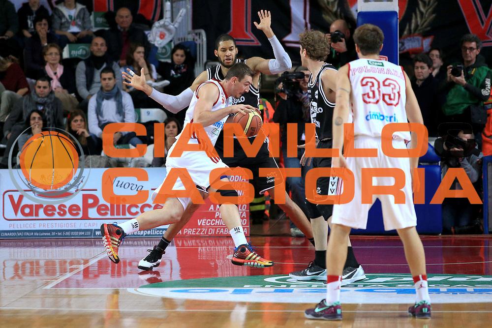 DESCRIZIONE : Varese Lega A 2013-14 Cimberio Varese Granarolo Bologna<br /> GIOCATORE : Rush Erik<br /> CATEGORIA : Palleggio penetrazione<br /> SQUADRA : Cimberio Varese<br /> EVENTO : Campionato Lega A 2013-2014<br /> GARA : Cimberio Varese Granarolo Bologna<br /> DATA : 2612/2013<br /> SPORT : Pallacanestro <br /> AUTORE : Agenzia Ciamillo-Castoria/I.Mancini<br /> Galleria : Lega Basket A 2012-2013  <br /> Fotonotizia : Varese  Lega A 2013-14 Cimberio Varese Granarolo Bologna<br /> Predefinita :