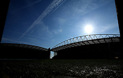A general view of The DW Stadium, home of Wigan Athletic - Mandatory by-line: Robbie Stephenson/JMP - 24/02/2018 - FOOTBALL - DW Stadium - Wigan, England - Wigan Athletic v Rochdale - Sky Bet League One