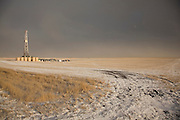 Oil development, drilling and exploration in the Baaken region of North Dakota