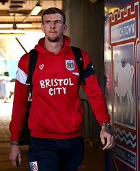 Aden Flint of Bristol City arrives at Portman Road, for the Sky Bet Championship fixture with Ipswich Town - Mandatory by-line: Robbie Stephenson/JMP - 30/09/2017 - FOOTBALL - Portman Road - Ipswich, England - Ipswich Town v Bristol City - Sky Bet Championship