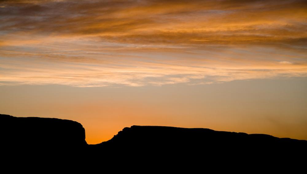 Santa Elena canyon sunset.
