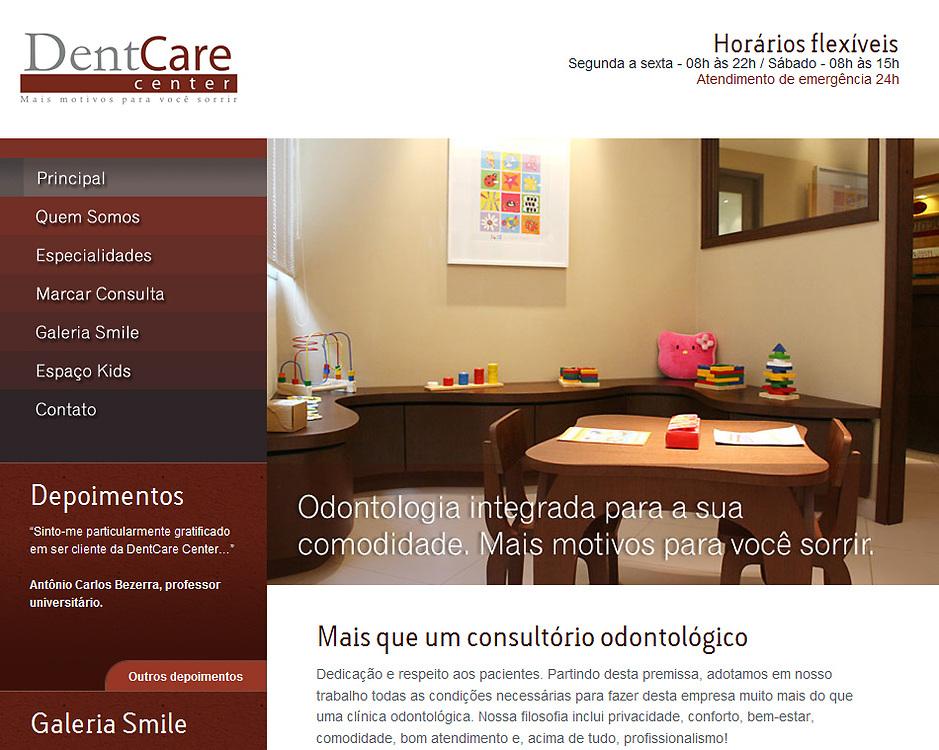 Fotos para o site e divulgação da DentCare http://www.dentcarecenter.com.br em parceria com a Agencia de Publicidade RedCafe