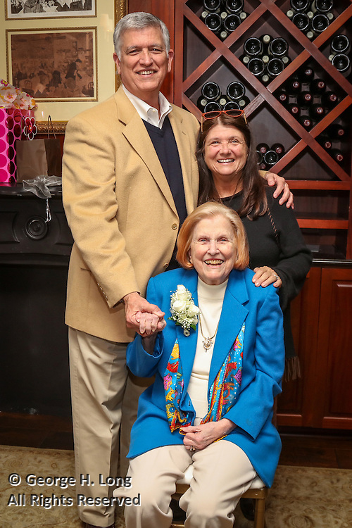 Jack and Debbie Blitch at the 90th birthday celebration for Hilda Blitch at Galatoire's 33