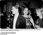 Leonardo DiCaprio, Sharon Stone & Ellen Barkin  at  Producer Steve Tisch &  Vanity Fair's Oscar Night Party,<br />