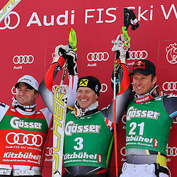 20110121: AUT, FIS World Cup Ski Alpin, Men Super-G, Kitzbuehel