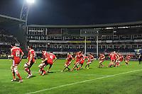 RITUEL DE MUNSTER - 14.12.2014 - Clermont / Munster - European Champions Cup <br /> Photo : Jean Paul Thomas / Icon Sport