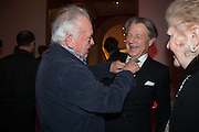 DAVID BAILEY; LEO DALY, Opening of Bailey's Stardust - Exhibition - National Portrait Gallery London. 3 February 2014