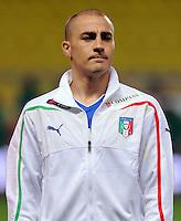 Fussball International, Italienische Nationalmannschaft  Italien - Kamerun 03.03.2010 Fabio Cannavaro (ITA)