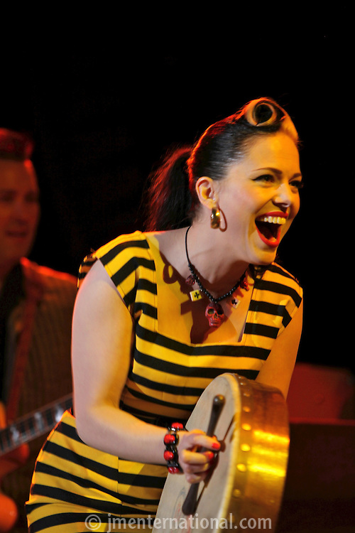 Imelda May, the 2011 MITs Award. Held at the Grosvenor Hotel London in aid of Nordoff Robbins and the BRIT School. Monday, Nov.7, 2011