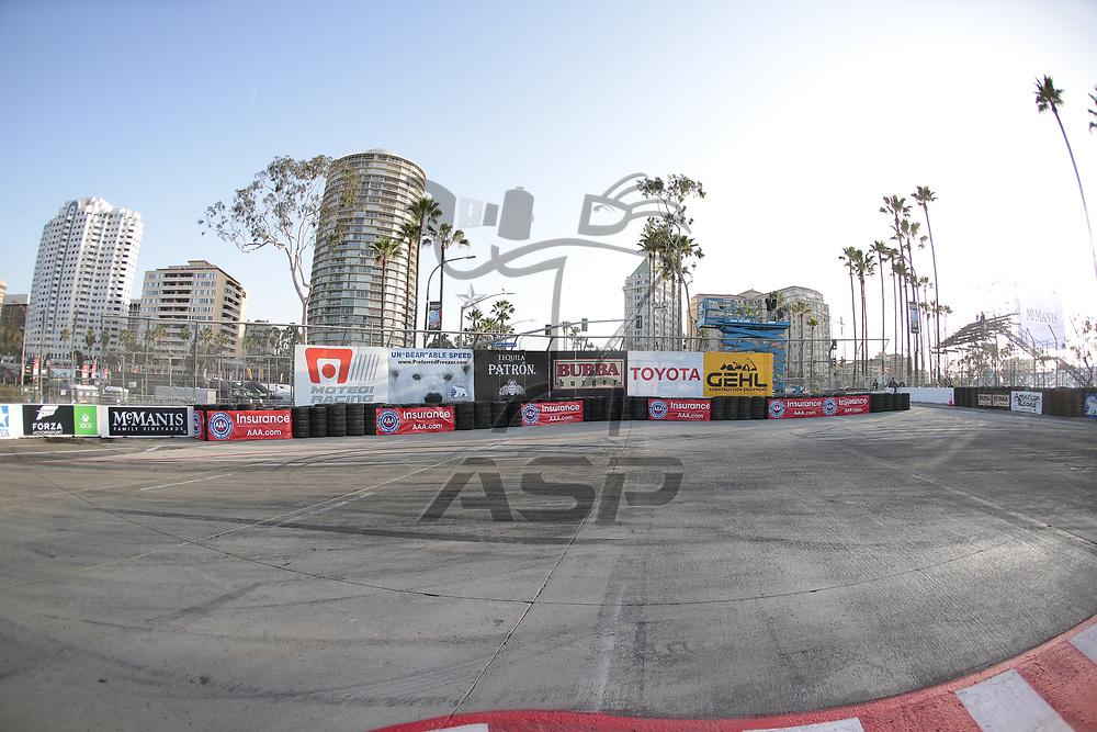 April 13, 2018 - Long Beach, California, USA:  The IMSA WeatherTech SportsCar Championship practice for the Bubba Burger Sports Car Grand Prix At Long Beach at Streets of Long Beach in Long Beach, California.