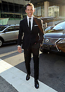 James Marsden arrives in a Lexus to the CFDA 2014 Fashion Awards, Monday June 2, 2014 in New York. (Photo by Diane Bondareff/Invision for Lexus/AP Images)