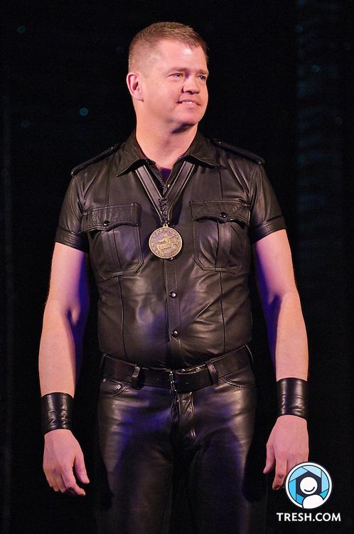Mr. Mid-Atlantic Leather 2006 Scott Harris at the Mr. Mid-Atlantic Leather Contest 2007