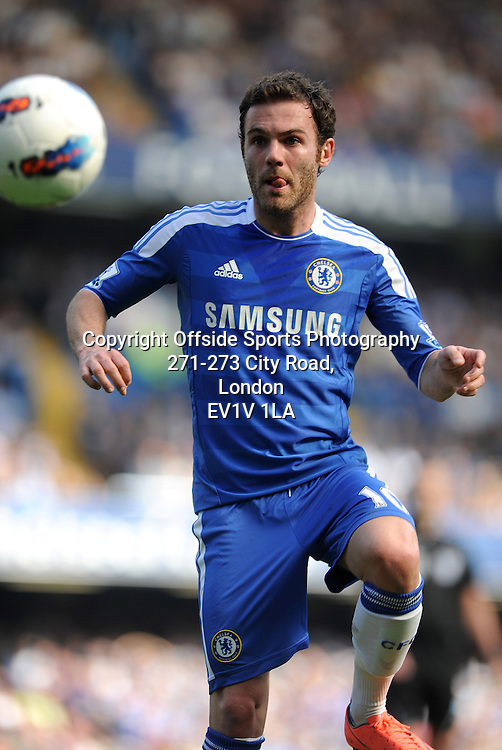 24/03/2012 - Barclays Premier League Football - 2011-2012 - Chelsea v Tottenham Hotspur - Juan Mata of Chelsea. - Photo: Charlie Crowhurst / Offside.