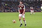 Burnley Midfielder, George Boyd (21) goal scorer during the Premier League match between Burnley and Bournemouth at Turf Moor, Burnley, England on 10 December 2016. Photo by Mark Pollitt.