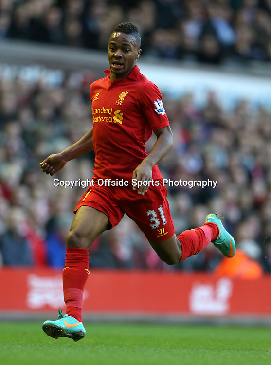 17th November 2012 - Barclays Premier League - Liverpool vs. Wigan Athletic - Raheem Sterling of Liverpool - Photo: Simon Stacpoole / Offside.