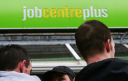 Embargoed to 0001 Tuesday August 1 File photo dated 19/03/09 of a Job Centre Plus branch. A number of new employment schemes are being launched aimed at helping thousands of long-term jobseekers and disadvantaged people find work.