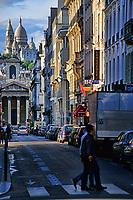 La Basilique du Sacre-Coeur from Pigalle