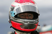 Ryan Briscoe at the Pikes Peak International Raceway, Honda Indy 225, August 21, 2005
