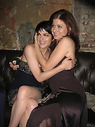 "Selma Blair & Debra Messing .""Purple Violets"" Premiere Party.2007 Tribeca Film Festival .The Film Lounge at PM Lounge.New York, NY, USA .Monday, April, 30, 2007.Photo By Celebrityvibe.To license this image call (212) 410 5354 or;.Email: celebrityvibe@gmail.com; ."
