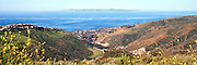 Panoramic View Of Laguna Beach From The Top Of The Bluffs