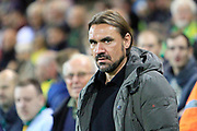 Norwich City manager Daniel Farke during the EFL Sky Bet Championship match between Norwich City and Burton Albion at Carrow Road, Norwich, England on 12 September 2017. Photo by Richard Holmes.