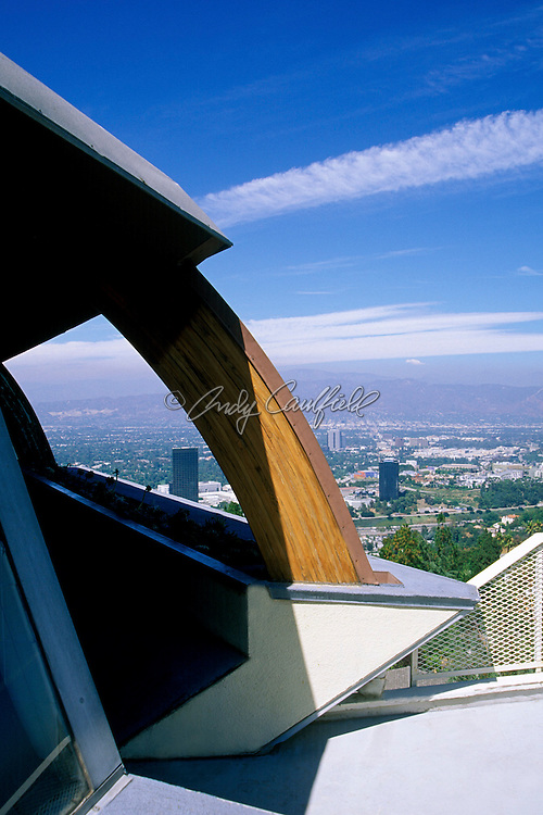 John Lautner's Chemosphere (1960) exterior...Los Angeles, CA USA..Editorial use Only. Not Released.
