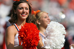 Virginia Cheerleaders....The Virginia Cavaliers defeated the Wyoming Broncos 13-12 in overtime on September 9, 2006 at Scott Stadium in Charlottesville, VA.