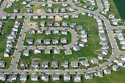 Suburban sprawl near Columbus Ohio.