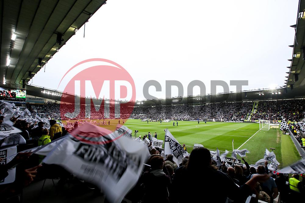 A near full Pride Park Stadium ahead of the Sky Bet Championship Playoff Semi-Final against Fulham - Mandatory by-line: Robbie Stephenson/JMP - 11/05/2018 - FOOTBALL - Pride Park Stadium - Derby, England - Derby County v Fulham - Sky Bet Championship