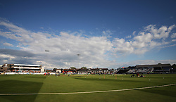 General view of the 3aaa County Ground before the match  - Mandatory by-line: Jack Phillips/JMP - 24/06/2016 - CRICKET - The 3aaa County Ground - Derby, United Kingdom - Derbyshire Falcons v Notts Outlaws - Natwest T20 Blast