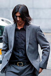 © Licensed to London News Pictures. 02/11/2011. LONDON, UK. Pakistani cricketer, Mohammad Amir, arrives at Southwark Magistrates in London to be sentenced for match fixing. Photo credit: Matt Cetti-Roberts/LNP