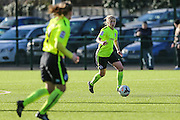Brighton's Kirsty Barton during the FA Women's Premier League match between Coventry United Ladies and Brighton Ladies at Bedford United FC, Bedford, United Kingdom on 21 February 2016. Photo by Shane Healey.