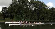 Henley, GREAT BRITAIN, GV of the Temple Island and the regatta course, Remenham Challenge Cup, Bucks, Wallingford RC and Berks, University of London and Nottingham Rowing Club.  2008 Henley Royal Regatta, on  Friday, 04/07/2008,  Henley on Thames. ENGLAND. [Mandatory Credit:  Peter SPURRIER / Intersport Images] Rowing Courses, Henley Reach, Henley, ENGLAND . HRR
