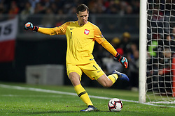 November 20, 2018 - Guimaraes, Guimaraes, Portugal - Wojciech Szczesny goalkeeper of Poland in action during the UEFA Nations League football match between Portugal and Poland at the Dao Afonso Henriques stadium in Guimaraes on November 20, 2018. (Credit Image: © Dpi/NurPhoto via ZUMA Press)