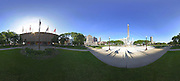 Panoramic of the American Legion Mall in Indianapolis, Tuesday June 04 2013. Photo by AJ Mast