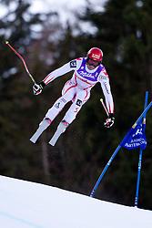 10.02.2011, Kandahar, Garmisch Partenkirchen, GER, FIS Alpin Ski WM 2011, GAP, Herren Abfahrtstraining, im Bild Joachim Puchner (AUT) takes to the air competing in the first men's downhill training run on the Kandahar race piste at the 2011 Alpine skiing World Championships, EXPA Pictures © 2011, PhotoCredit: EXPA/ M. Gunn