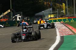 August 28, 2016 - Spa Francorchamps, Belgium - Motorsports: FIA Formula One World Championship 2016, Grand Prix of Belgium, .#14 Fernando Alonso (ESP, McLaren Honda Formula 1 Team) (Credit Image: © Hoch Zwei via ZUMA Wire)