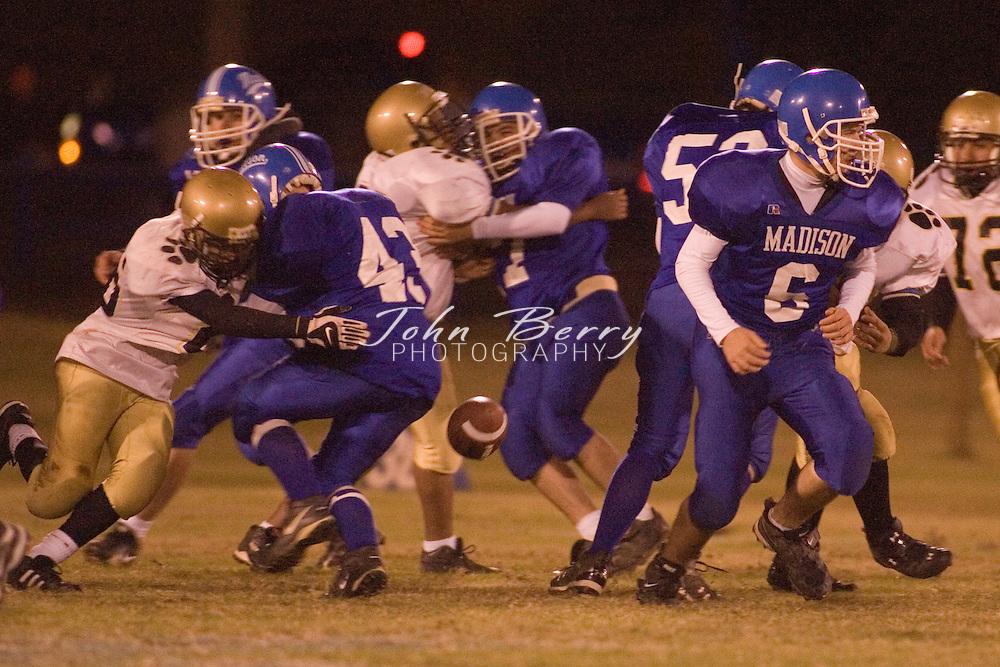 MCHS Freshman Football.vs Manassas Park  .October 25, 2006
