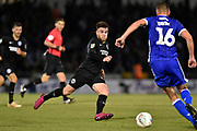 Aaron Connolly (44) of Brighton and Hove Albion on the attack during the EFL Cup match between Bristol Rovers and Brighton and Hove Albion at the Memorial Stadium, Bristol, England on 27 August 2019.
