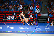 Emma Erangey from Denmark was born in Høje Taastrup in 1998. She began competing in gymnastics at age six.