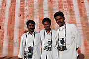 Photographers at the Kanyakumari temple. The southern most point of India.