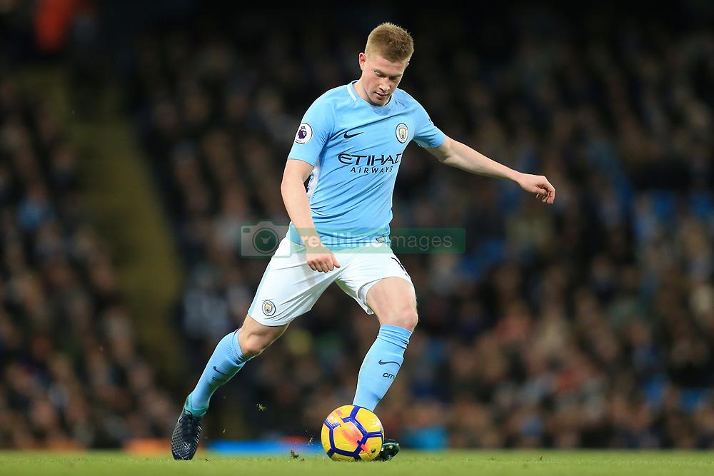 3rd December 2017 - Premier League - Manchester City v West Ham United - Kevin De Bruyne of Man City - Photo: Simon Stacpoole / Offside.