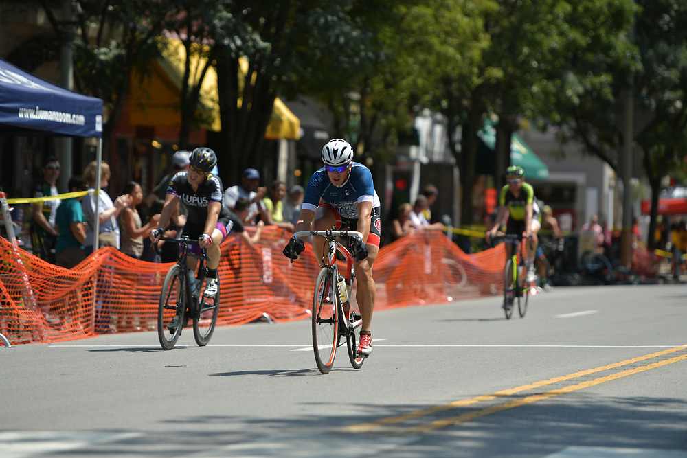 Ardmore, PA - AUGUST 20:  2017 Main Line Bike Race on August 20, 2017 in Ardmore, Pennsylvania. (Photo by Drew Hallowell/Getty Images)