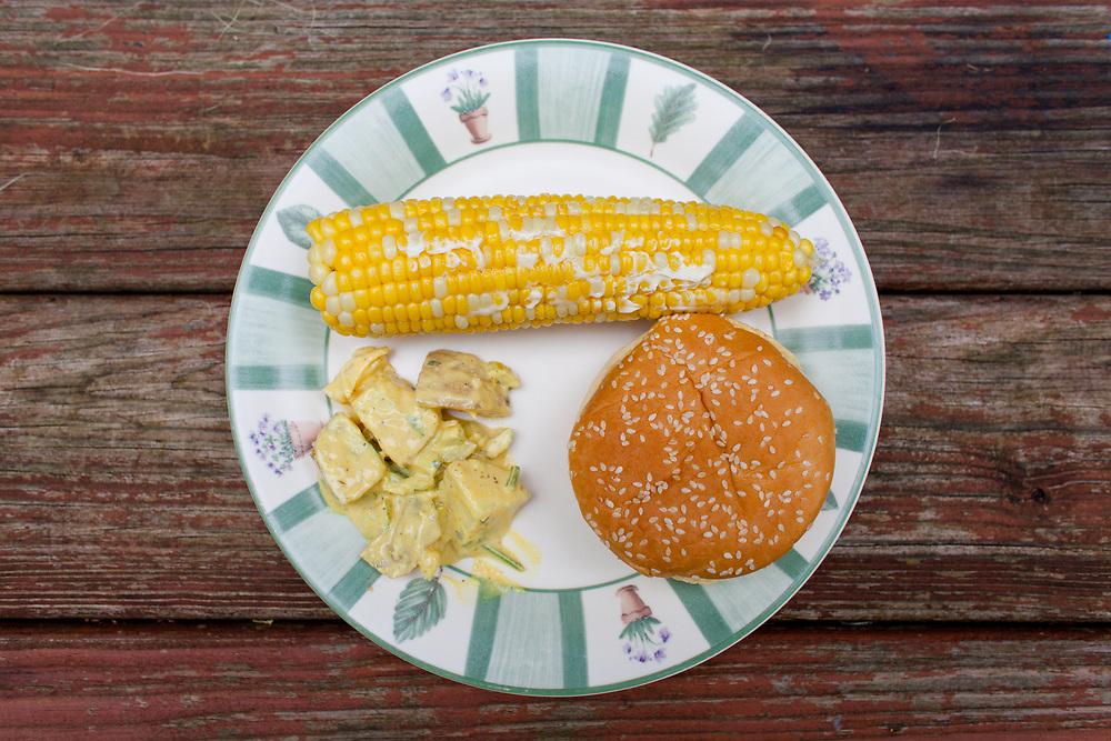 PB&J Sandwich w/ Corn and Potato Salad at WV AirBnB (CODFREE) - OFF: WV