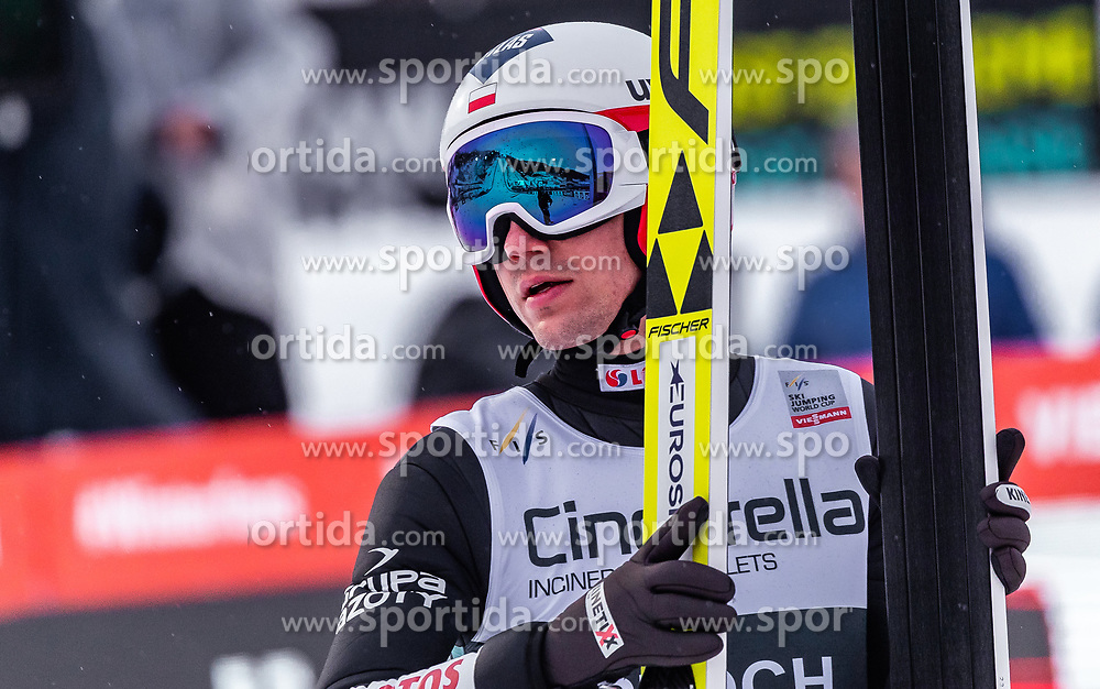 17.03.2019, Vikersundbakken, Vikersund, NOR, FIS Weltcup Skisprung, Raw Air, Vikersund, Einzelbewerb, Herren, im Bild Kamil Stoch (POL) // Kamil Stoch of Poland during the individual competition of the 4th Stage of the Raw Air Series of FIS Ski Jumping World Cup at the Vikersundbakken in Vikersund, Norway on 2019/03/17. EXPA Pictures © 2019, PhotoCredit: EXPA/ JFK