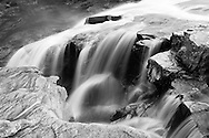 Formofossen is one of Grongs three large waterfalls...Formofossen er en av Grongs tre store fosser.