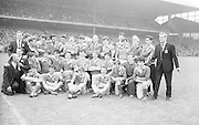 GAA All Ireland Minor Football Final Mayo v. Down 25th .September 1966 Croke Park.Mayo Team.25.9.1966  25th September 1966
