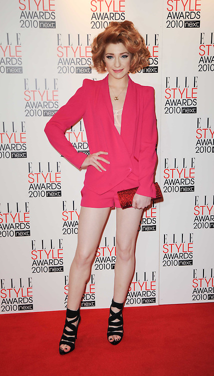 NICOLA ROBERTS at the Elle Style Awards 2010 held at the Grand Connaught Rooms, London on 22nd February 2010